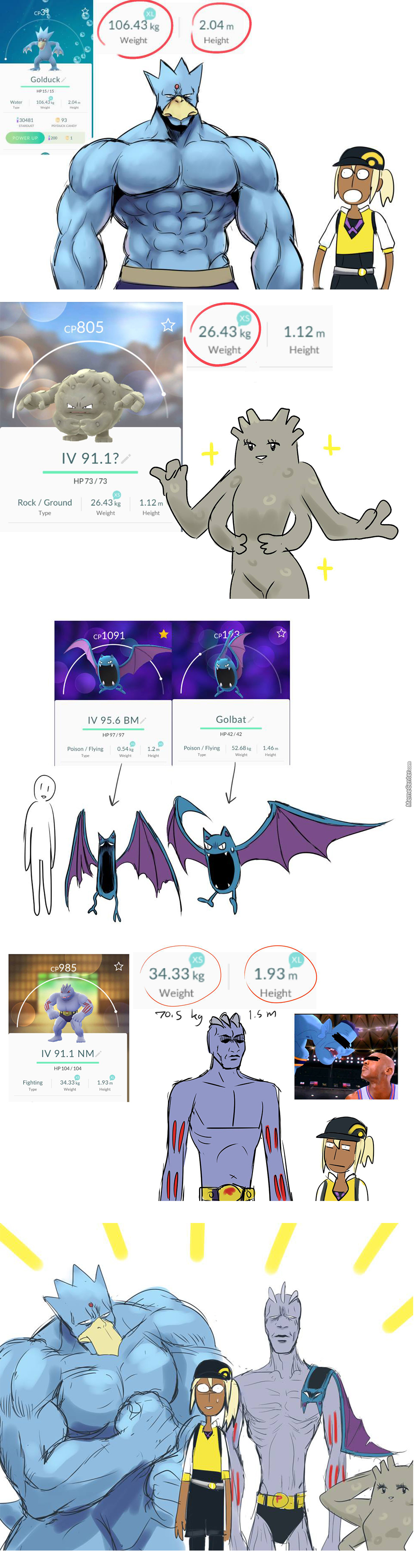 How My Pokemon Go Team Exacly Look In Reality