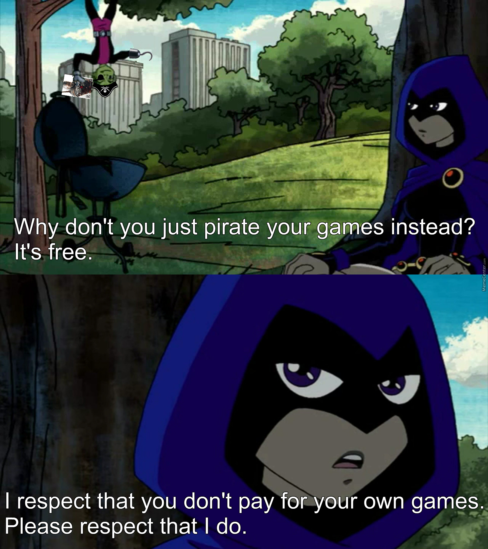 How Pretty Much All Of My Conversations With Pirates Goes