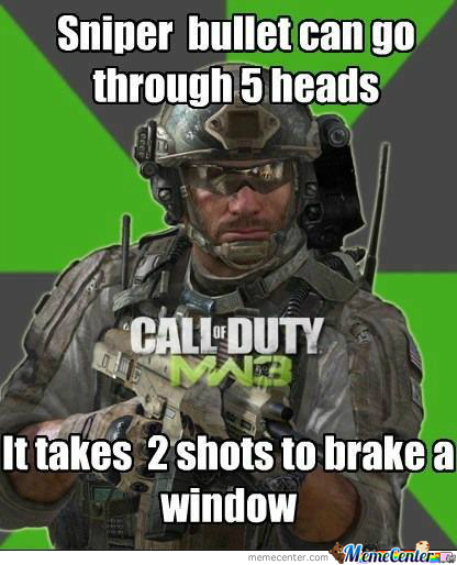How Shit Mw3 Is.