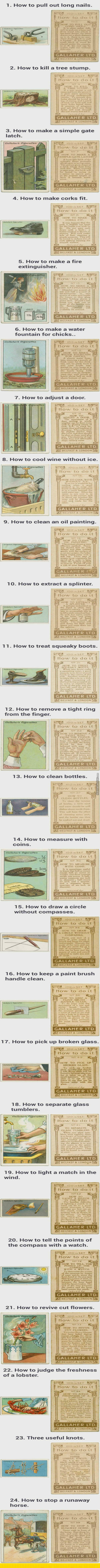 How To And Other Interesting Things From The Probably 1800's Probably. I Don't Know.
