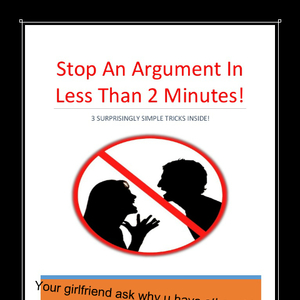 how to avoid your girlfriend