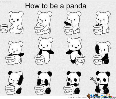 How To Be A Panda In 12 Step