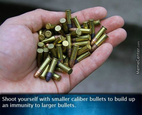 How To Be Immune To Shootings In Murika