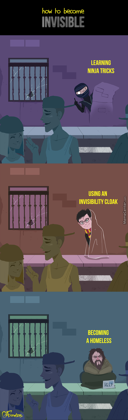 How To Become Invisible