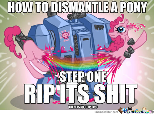 How To Deal With Ponies.