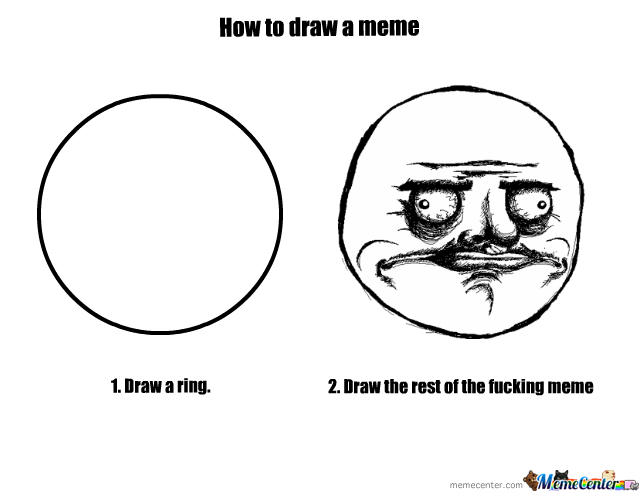 how to draw a meme_o_207167 meme center cubeers likes,Memes Drawing