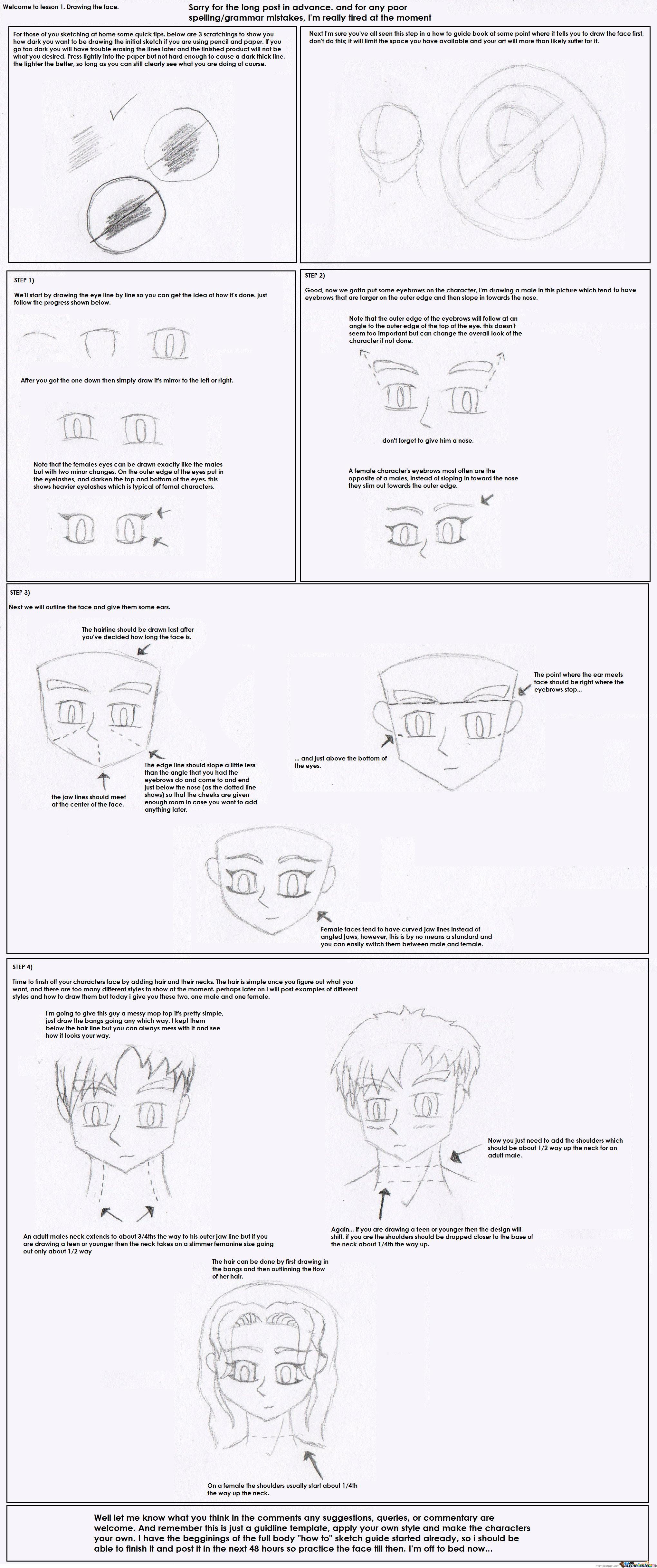 how to draw, lesson 001 by ziosuna meme centerhow to draw, lesson 001