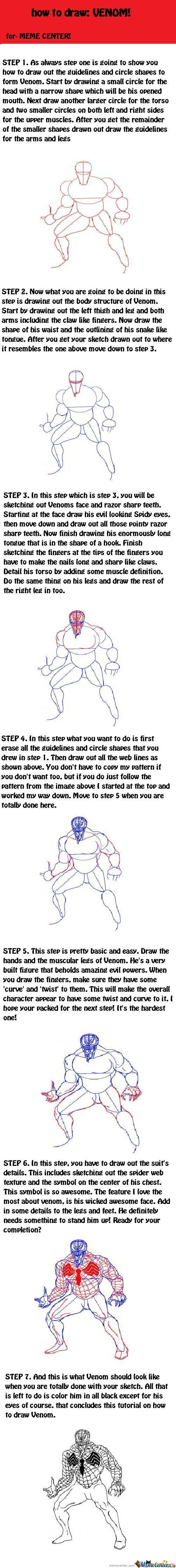 How To Draw: Venom