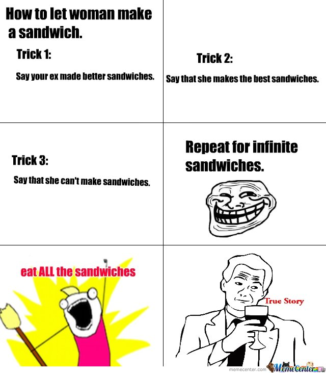 how to get sandwiches