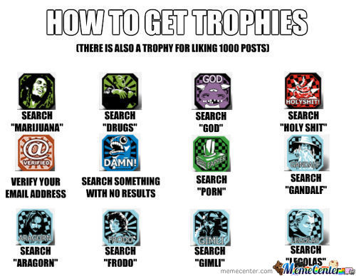 How To Get Trophies