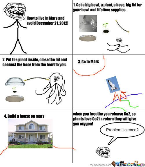How To Live In Mars!!