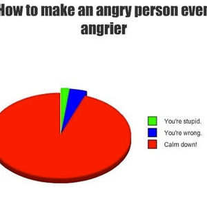 how to make an angry person laugh