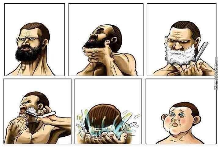 shave like a man