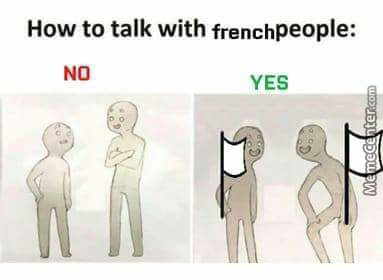 How To Talk To French People