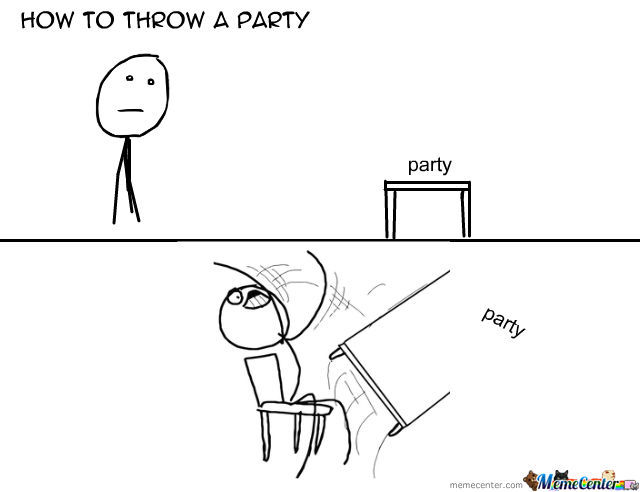 How To Throw A Party