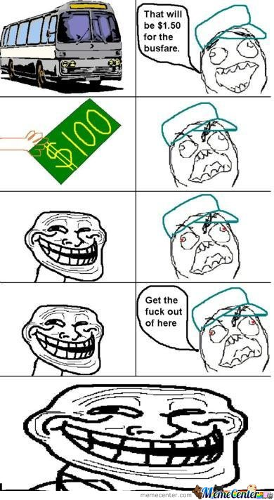 How To Troll Bus Driver..
