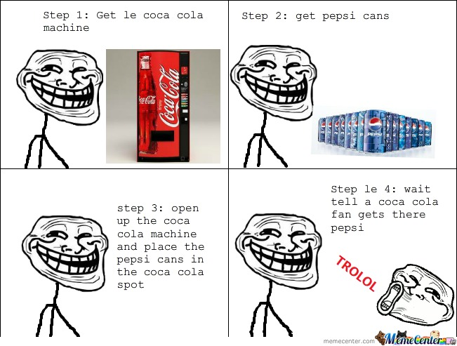 How To Troll Coca Cola Fans