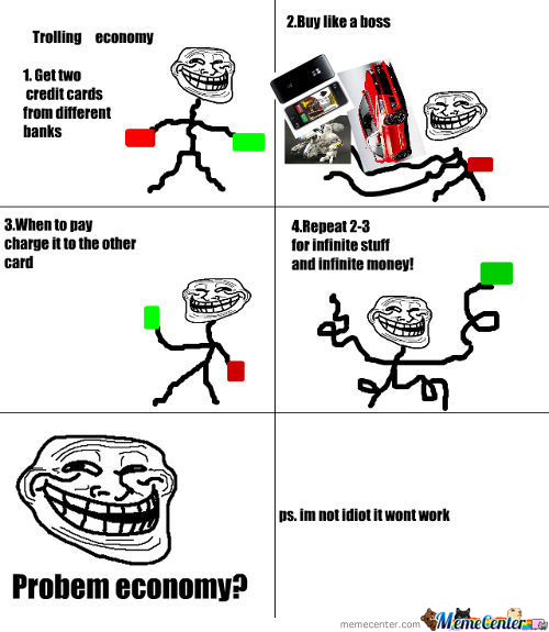 How To Troll Economy