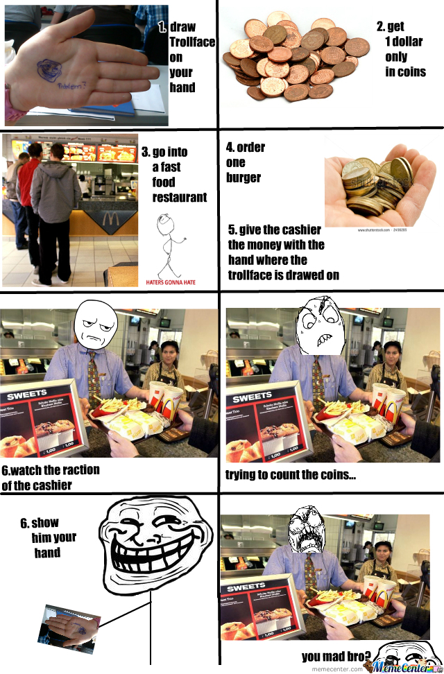 How To Troll The Cashier