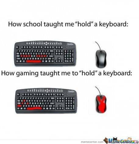 how to use game keyboard