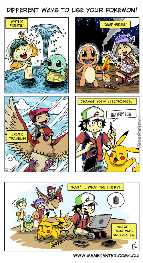 How To Use Your Pokemon