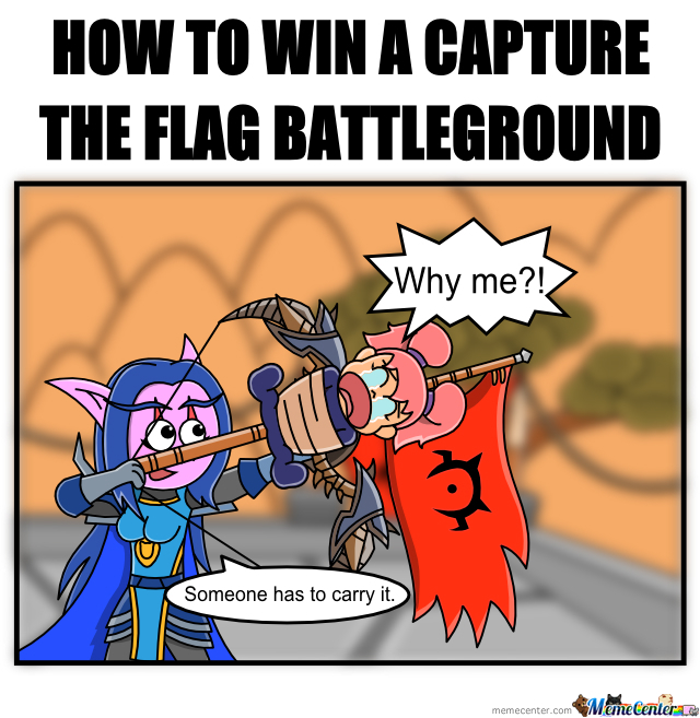 How To Win A Capture The Flag Battleground