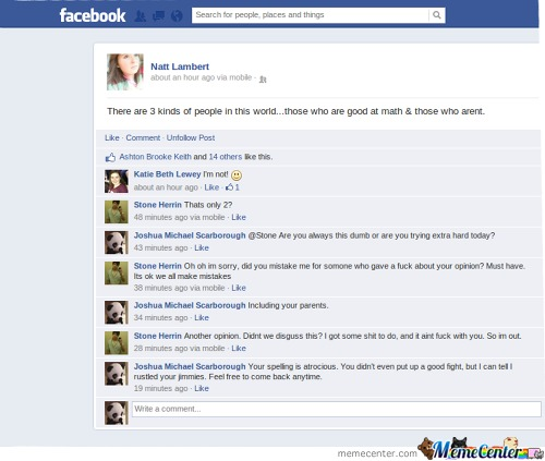 How To Win A Facebook Argument