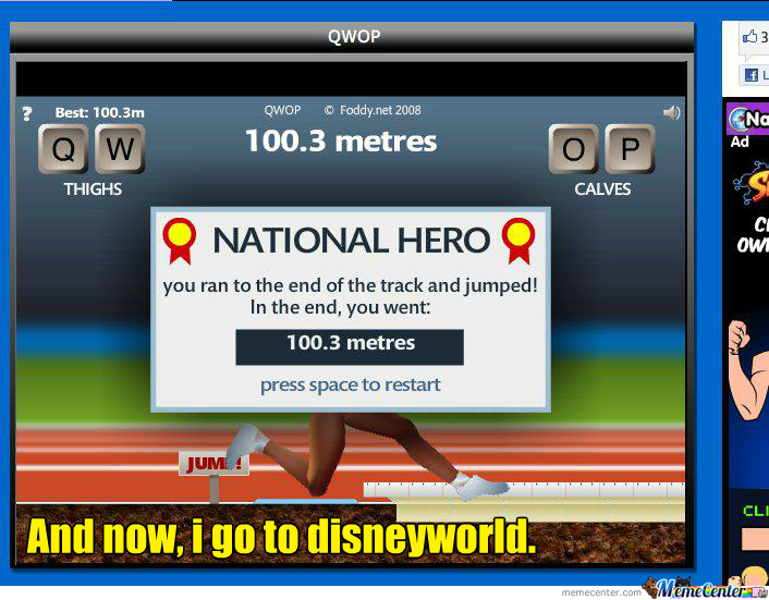 How to win qwop by shramorama meme center how to win qwop ccuart Image collections