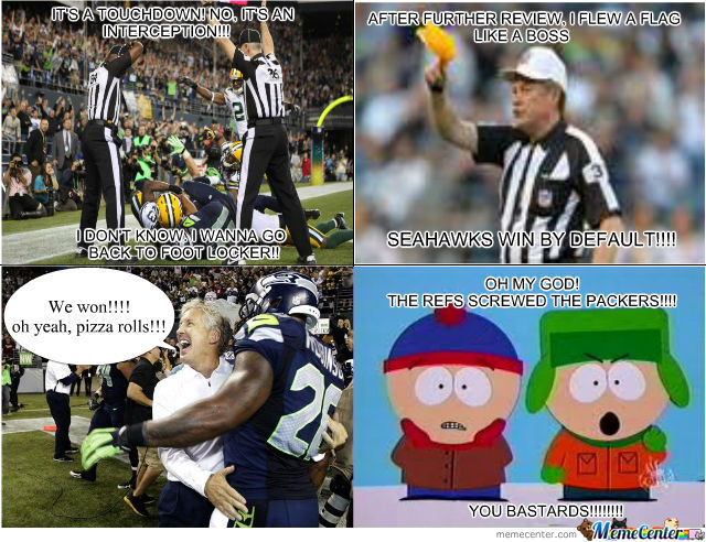How We All Saw The Packers Vs. Seahawks Game