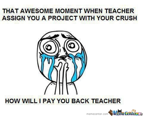How Will I Pay You Back Teacher?!