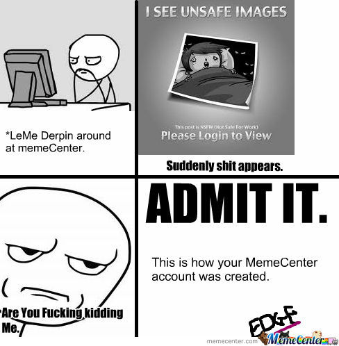 How Your Memecenter Account Was Created.