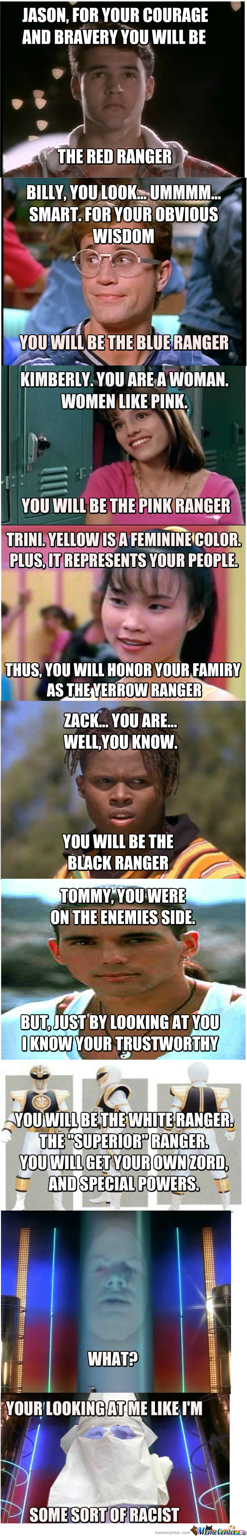 How Zordon Chose The Power Rangers
