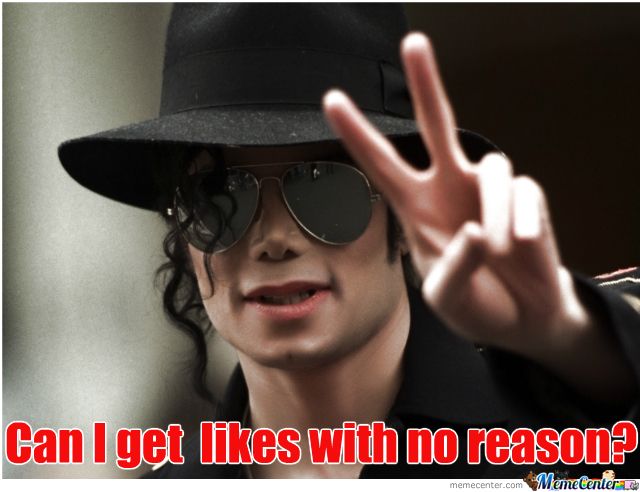hpw much likes for michael jackson