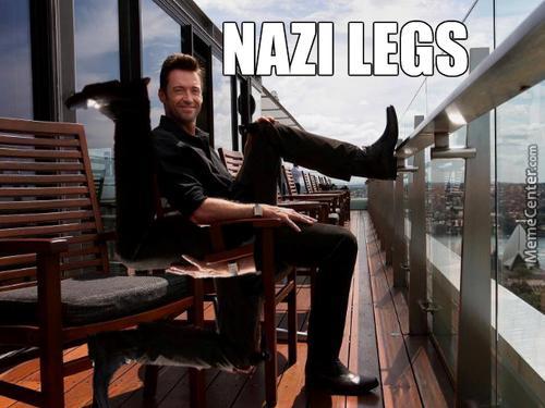Hugh Jackman Is  Back With Legs Of Hate And Inflation