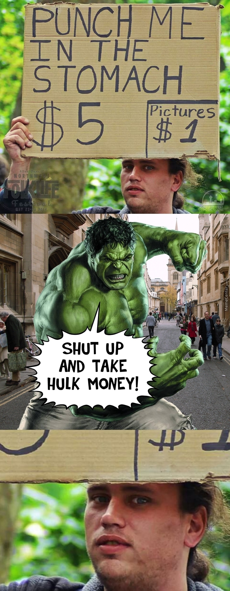 Hulk Has Money!