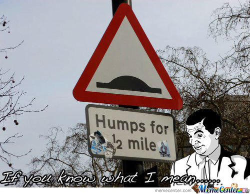 Humps For 1/2 Mile