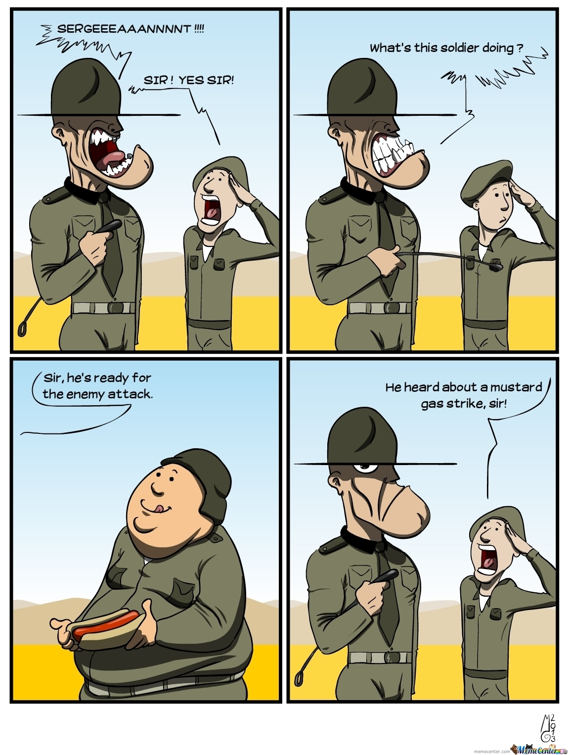 Hungry Soldier