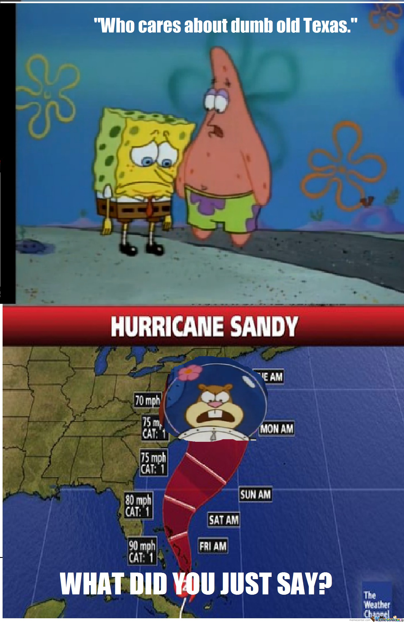 Hurricane Sandy  Y'all
