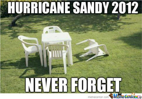 Hurricane Sandy.....