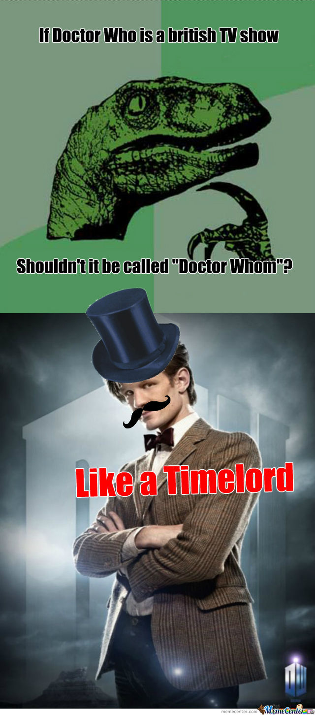 Huzzah For The Doctor
