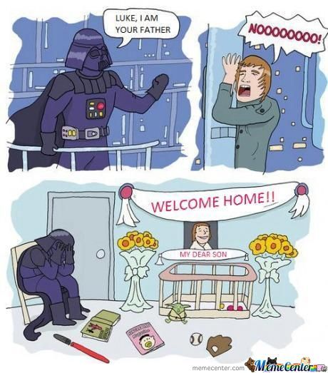 I Actually Cried A Bit Inside... Poor Vader.