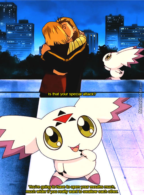 I Also Have Another Attack Down South (Anime Name: Digimon)
