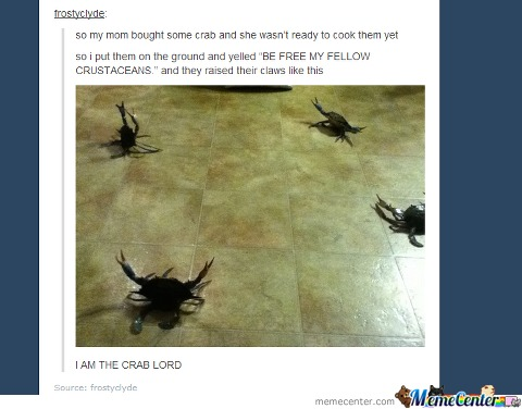 I Am Crab Lord