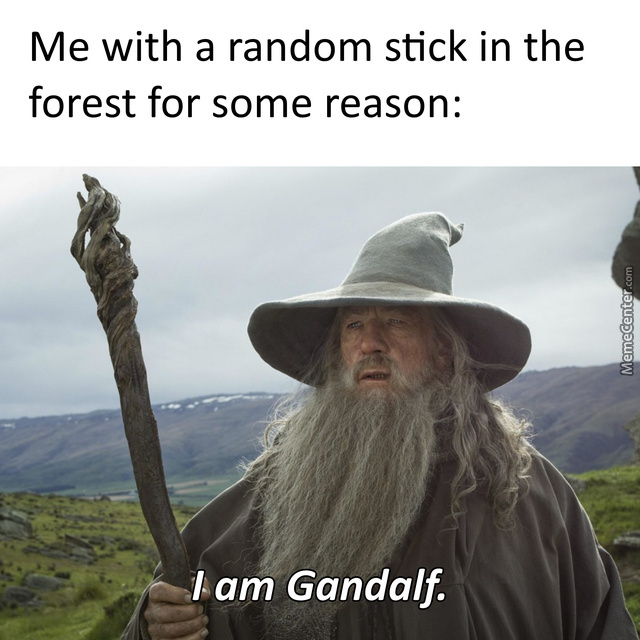 I Am Gandalf, And Gandalf Means Me