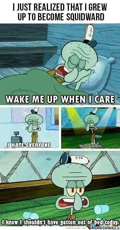 I Am Squidward
