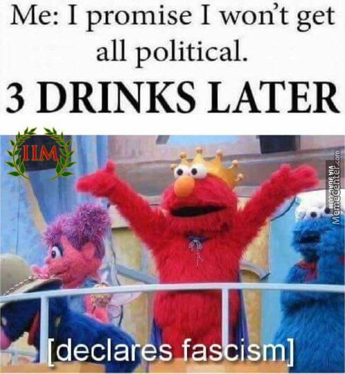 I'd Probably Declare Totalitarianism, But To Each Is Ones Own