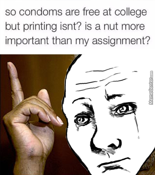 I'd Rather Have Free Printing; I'll Use It More