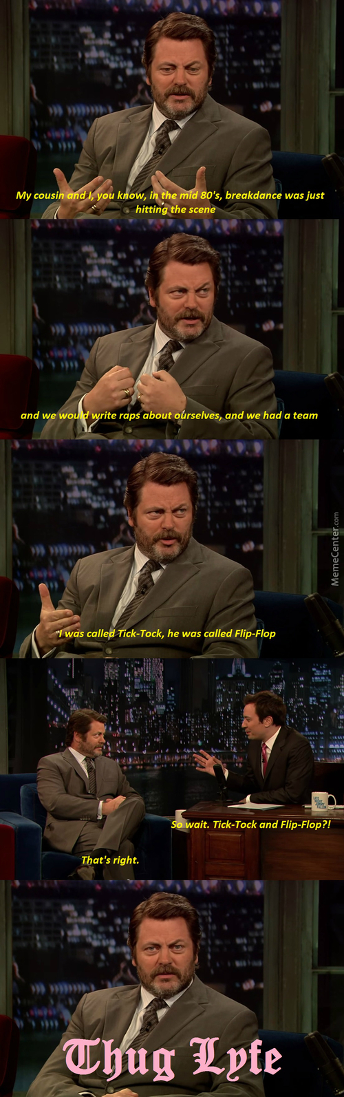 I'll Never Be Cool As Ron Swanson, Not Because I Can't But I Have No Self Confidence