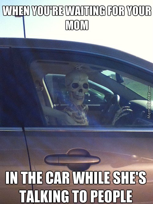 I'll Wait For You In The Car