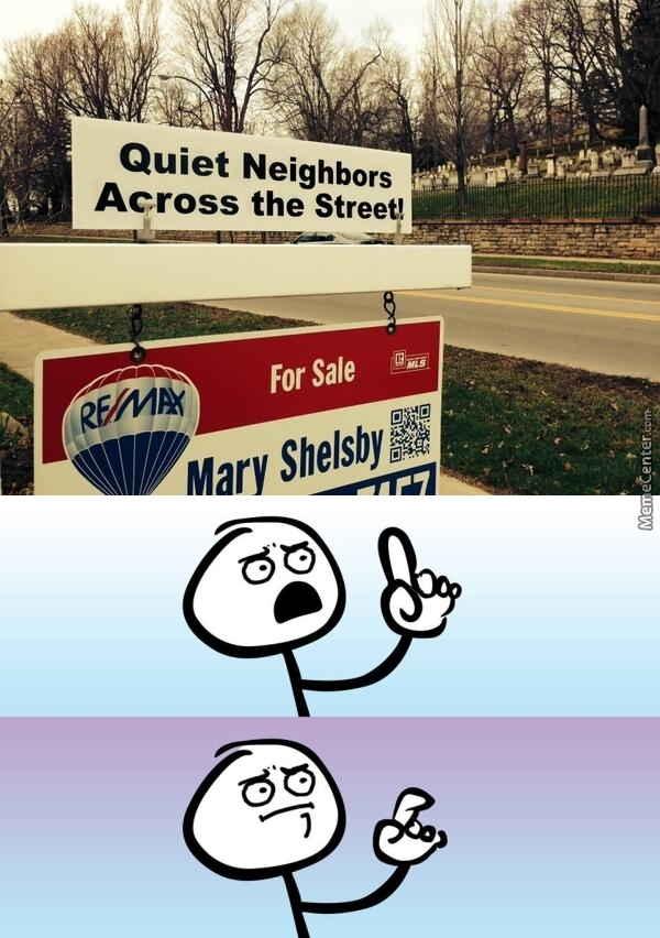 I'm Just Dying To Meet The Neighbours